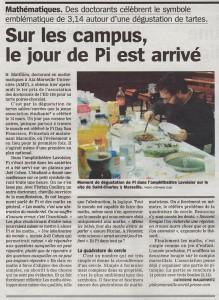 PiDay - La Marseillaise